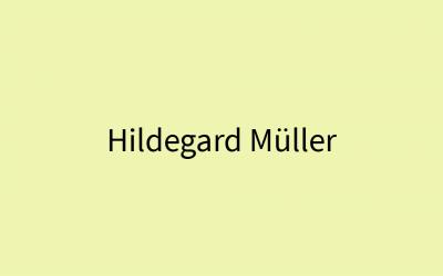 Hildegard Müller *03.02.1926 †11.11.2017