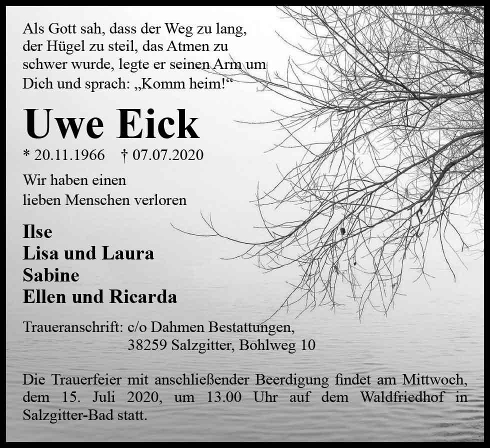 Eick_Gedenkportal_Traueranzeige